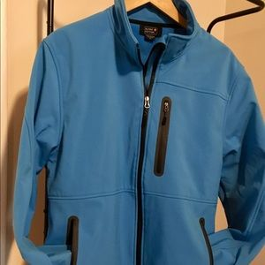 Other - Outdoor winter jacket. Blue, size medium. EUC